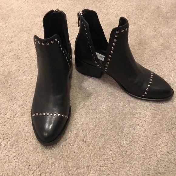5968c4bd280 Steve Madden conspire black leather